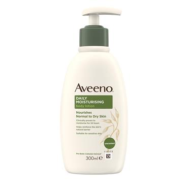 Aveeno Daily Moisturising Body Lotion Nourishes  Normal To Dry Skin 300ml