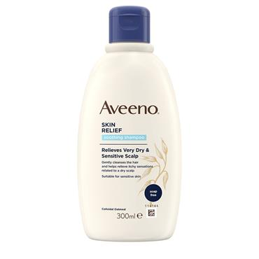 Aveeno Skin Relief Soothing Shampoo Relieves Very Dry & Sensitive Scalp 300ml