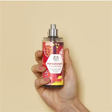 The Body Shop Hair & Body Mist Pomegranate & Red Berries 150ml