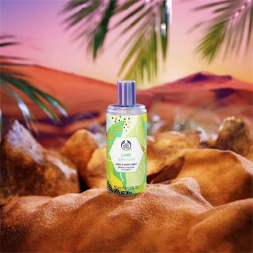 The Body Shop Hair & Body Mist Lime & Matcha 150ml