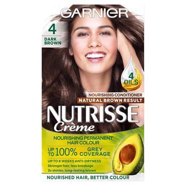 GARNIER NUTRISSE CREME - 4 DARK BROWN