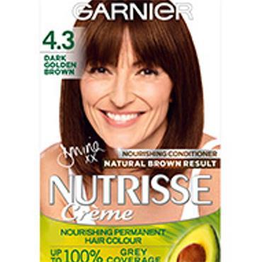 GARNIER NUTRISSE CREME - 4.3 Dark Golden Brown