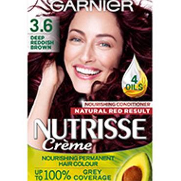 GARNIER NUTRISSE CREME - 3.6 Deep Reddish Brown
