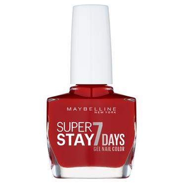 Maybelline SuperStay 7 Days Gel Nail Polish Deep Red