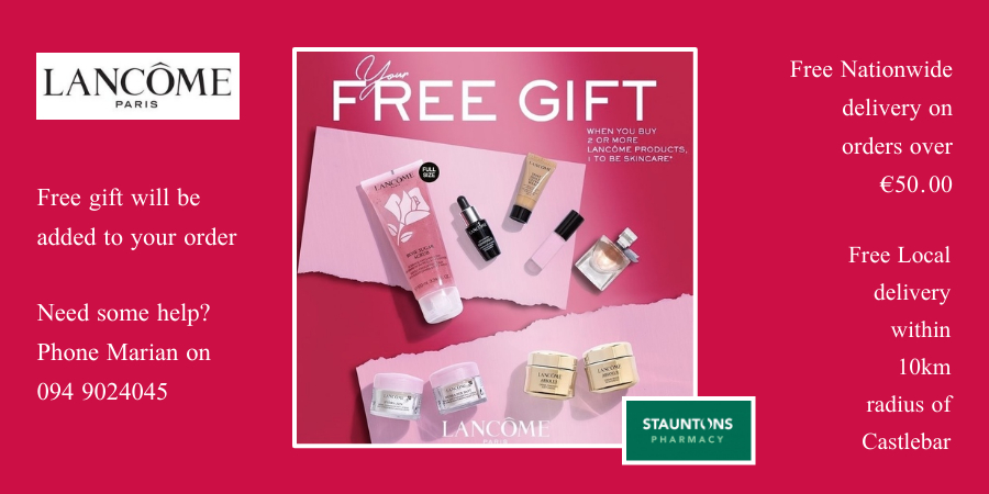 Lancome Gift with Purchase Promo