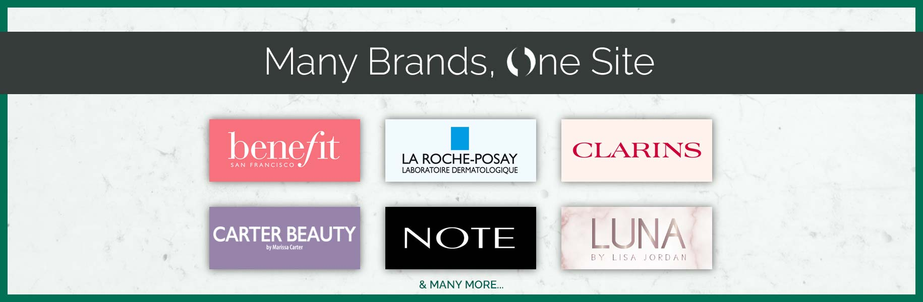 Many brands, one site