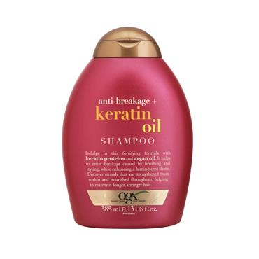 OGX KERATIN OIL STRENGTH & LENGTH SHAMPOO 385ML