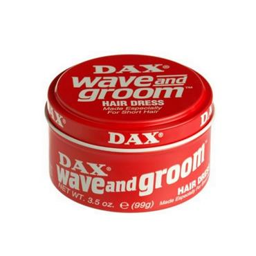 DAX DAX WAVE AND GROOM HAIR GEL RED TIN