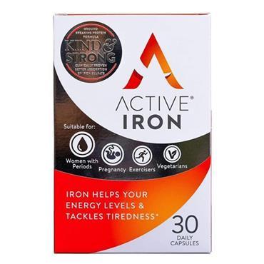 ACTIVE IRON ACTIVE IRON CAPSULES 14MG 30S