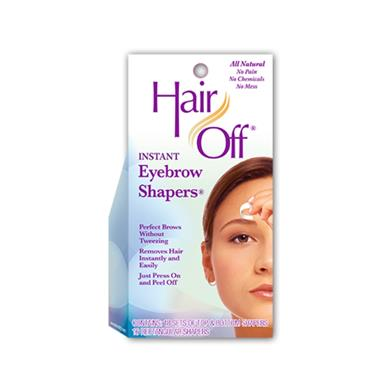 HAIR OFF HAIR OFF INSTANT EYEBROW SHAPERS