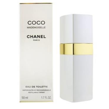 CHANEL CHANEL COCO MADEMOISELLE EAU DE TOILETTE REFILLABLE SPRAY  50ML