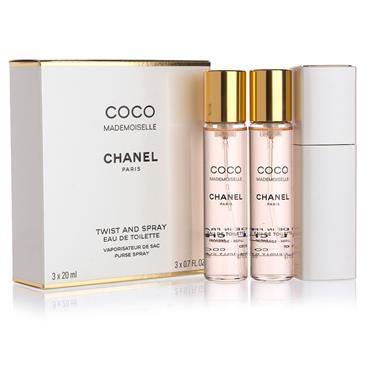 Chanel Chanel Coco Mademoiselle Eau De Parfum Refill 3 x 20ml