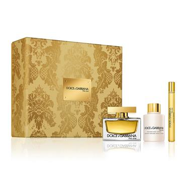 D&G D&G THE ONE LADIES 75ML 3PC GIFTSET