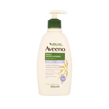 AVEENO DAILY MOIST LAVENDER LOTION 300ML