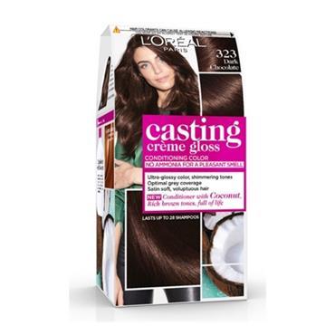 L'Oreal Casting Creme Gloss Dark Chocolate 323