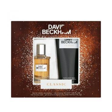 DAVID BECKHAM DAVID BECKHAM CLASSIC EDT 40ML GIFTSET