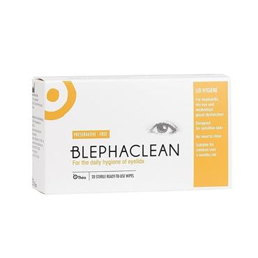 BLEPHACLEAN BLEPHACLEAN LID HYGIENE READY TO USE WIPES 20 PACK