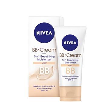 NIVEA NIVEA 5 IN1 BB DAY CREAM SPF 20 LIGHT SKIN TONE