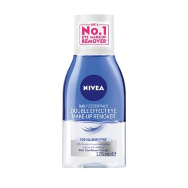 NIVEA NIVEA DAILY ESSENTIALS DOUBLE EFFECT EYE MAKE-UP REMOVER 125ML