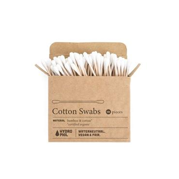 HYDROPHIL COTTON SWABS- CERTIFIED BAMBOO & COTTON 100 PIECES