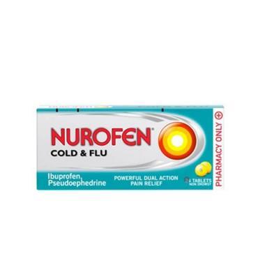 NUROFEN NUROFEN COLD & FLU TABLETS 12S