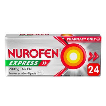 NUROFEN EXPRESS 200MG TABLETS 24S 713703