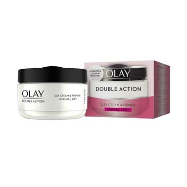 OLAY OLAY DOUBLE ACTION DAY CREAM & PRIMER FOR NORMAL/DRY SKIN 50ML