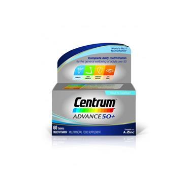 CENTRUM ADVANCE 50+ 60S