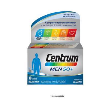 CENTRUM MEN 50+ 30S