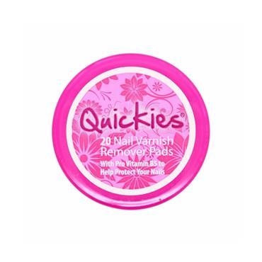 Quickies Nail Varnish Remover Pads- 20