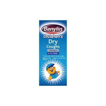 BENYLIN CHILD DRY COUGH MEDICINE 125ML