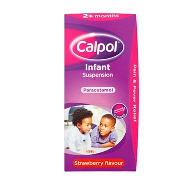 CALPOL SUSPENSION (INFANT) 140ML SYRINGE