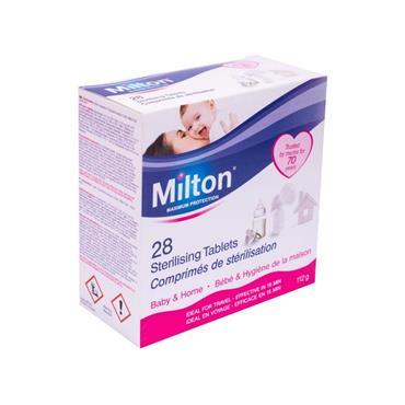MILTON MILTON 28 STERILISING TABLETS 112G