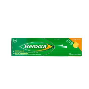 BEROCCA EFFERVESCENT TABS BOOST 15S