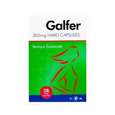 GALFER GALFER 305MG HARD CAPSULES 28 PACK