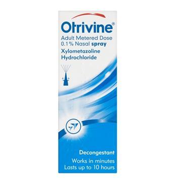 OTRIVINE OTRIVINE ADULT 0.1 % DECONGESTANT NASAL SPRAY