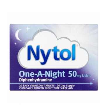 NYTOL NYTOL ONE A NIGHT 50MG TABLETS FOR SLEEP 20'S