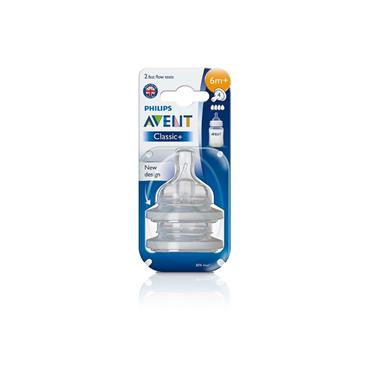 AVENT BPA FREE FAST FLOW TEATS 6M+