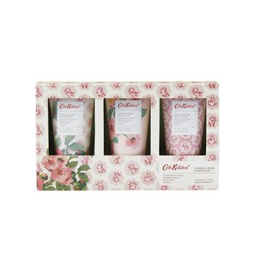 CATH KIDSTON CASSIS & ROSE TRIO HAND CARE GIFTSET