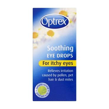 OPTREX OPTREX SOOTHING EYE DROPS FOR ITCHY EYES