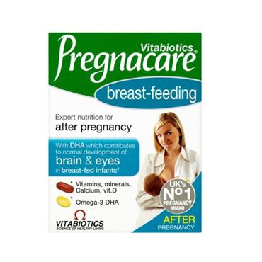 VITAIOTICS PREGNACARE BREAST FEEDING DUAL PACK -AFTER PREGNANCY PACK