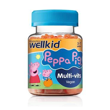 VITABIOTICS WELLKID PEPPA PIG MULTI-VITS 30 SOFT JELLIES