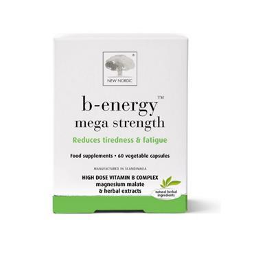 NEW NORDIC NEW NORDIC B-ENERGY MEGA STRENGTH 60 CAPSULES