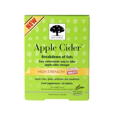 NEW NORDIC NEW NORDIC APPLE CIDER 720MG DIGESTION TABLETS
