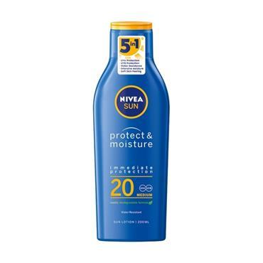 NIVEA NIVEA SUN PROTECT & MOISTURE SPF 20 200ML
