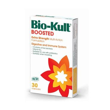 Bio Kult Boosted Extra Strength Multi Action Digestive & Immune System 30 Capsules