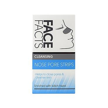 FACE FACTS FACE FACTS CLEANSING NOSE PORE STRIPS WITH WITCH HAZEL