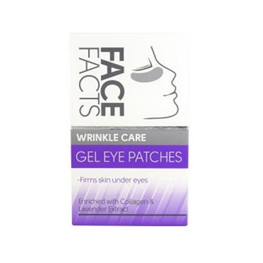 QUEST BRANDS FACE FACTS COLLEGEN GEL EYE PATCHES 4 PAIRS
