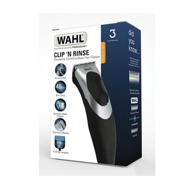 WAHL WAHL CLIP 'N RINSE CORD/CORDLESS HAIR CLIPPERS