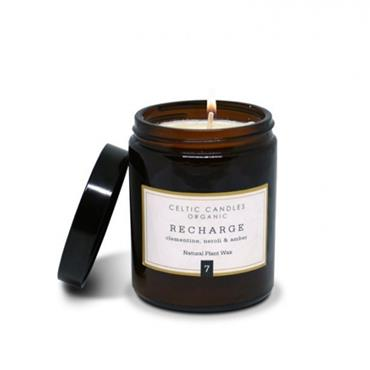 CELTIC CANDLE RECHARGE CLEMENTINE NEROLI & AMBER 180ML POT